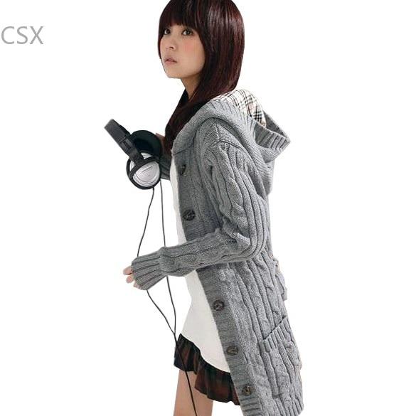 Alishebuy 2013 New Antumn warm winter cardigans,long sleeve cardigans women sweater F 51