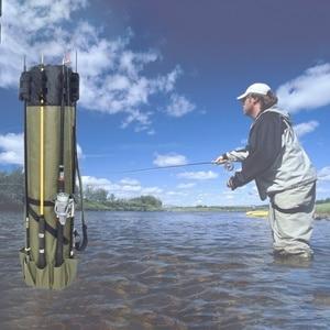 Image 2 - Elemento Portante Del Sacchetto di Canna da pesca Da Pesca Bobina Organizzatore Pole Sacchetto di Immagazzinaggio per la Pesca e Viaggiare Bobina Custodia Organizer Pole Sacchetto di Immagazzinaggio