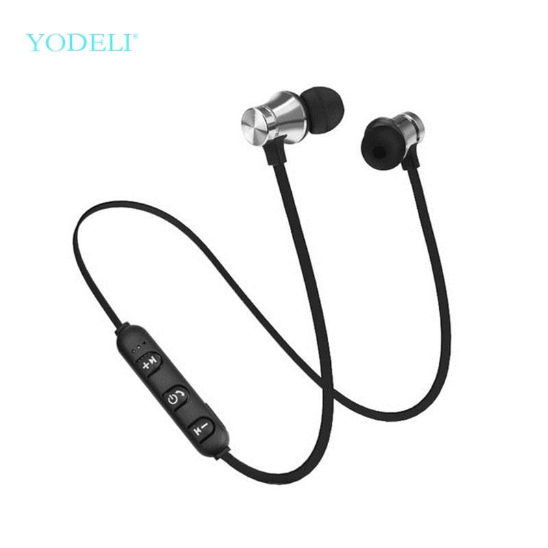 YODELI Bluetooth Headphones With MIC XT-11 Wireless Bluetooth Earphone Sport Sweatproof Bass Music Headset For Mobile Phones (6)