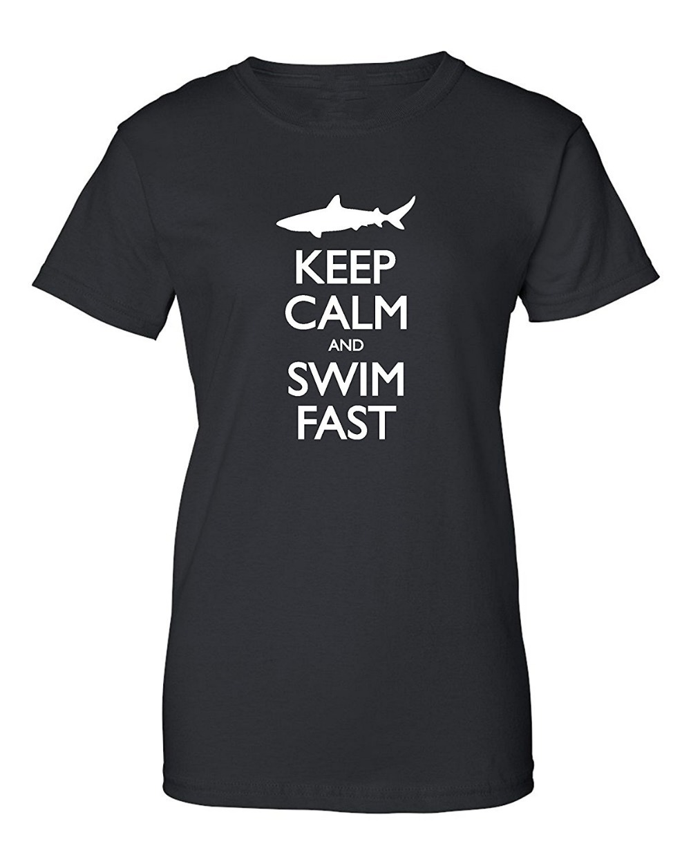Design your own t-shirt female - Design Your Own T Shirt Casual Women Crew Neck Short Sleeve Keep Calm And Swimer