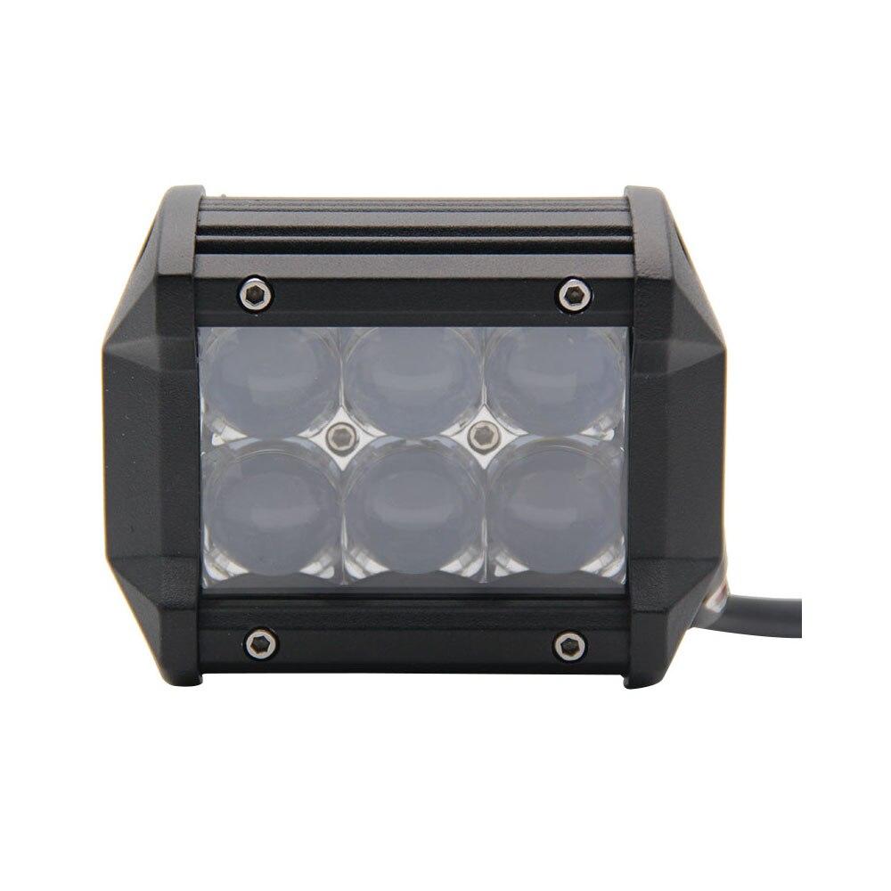 ФОТО 5D 4Inch 18W 12 24V Spot Beam Led Work Light  4