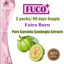 ( 2 Packs ) Pure Garcinia cambogia extracts weight loss effective FUCO Extra Burn Fat 80% HCA Diet supplement 60 days supply
