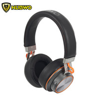 NUBWO S2 Bluetooth Headphones with Microphone casque Portable Wireless Stereo Headset Handsfree Calls for iPhone Xiaomi MP3