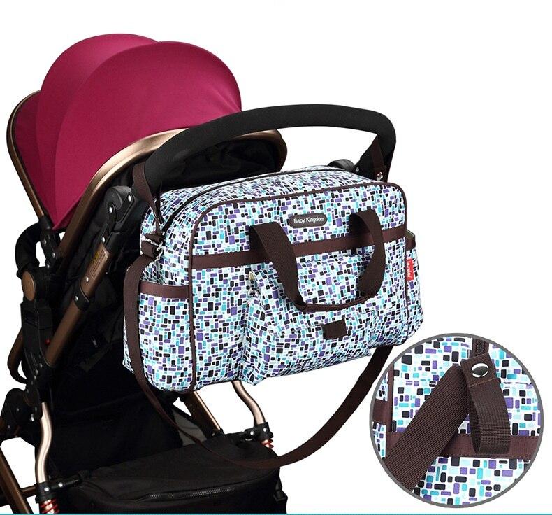 torba na wózek dziecięca Torebka na pieluchy Torebka Torba na - Pieluchy i Trenowanie toalety - Zdjęcie 3