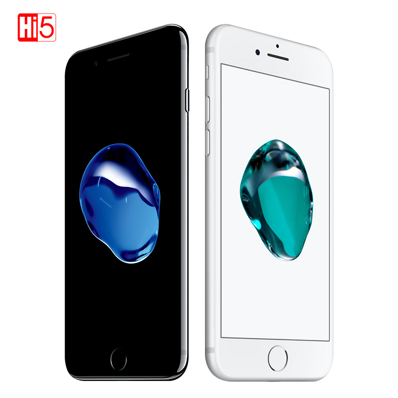 Image 4 - Unlocked Original Apple iPhone 7 32G/128G/256G Rom Quad core Mobile phone 12.0MP Camera IOS 1960mA Fingerprint Smart Phone Whole-in Cellphones from Cellphones & Telecommunications