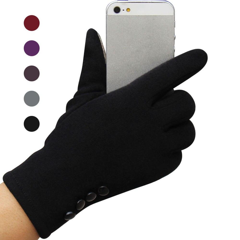 Fashion Womens Outdoor Winter Warm Gloves Touch Screen Sport Ski Gloves Mittens