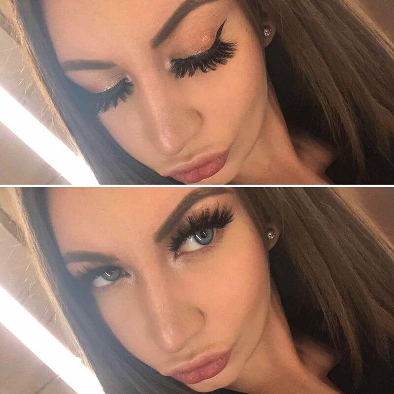 eyelashes natural long 3d