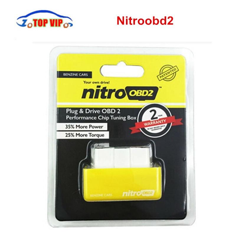 Более Мощность! Nitroobd2 Интерфейс для дизельных/автомобили тюнинга авто чип Nitro OBD2 подключи и Драйв свой собственный драйвер Nitro OBD2