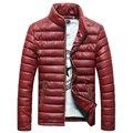 2016 new feather padded collar men Slim Korean winter coat male youth casual jacket jacket tide winter jacket men