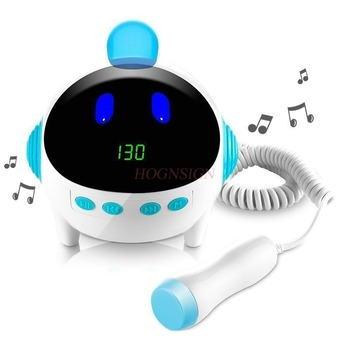 Fetal Heart Medical Play Music Home Pregnant Women Listen To Pulse Rate Monitor Monitoring Stethoscope Language Instrument