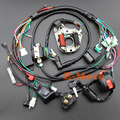 Full Electrics wiring harness CDI Coil Kill Switch NGK Spark Plug 50cc 70cc 90cc 110cc 125cc ATV Quad Pit Bike Buggy Go Kart