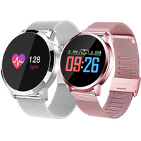 2019 High Quality Smart Watch Color Screen Smartwatch women Fashion Fitness Tracker Heart Rate monitor smart wristband