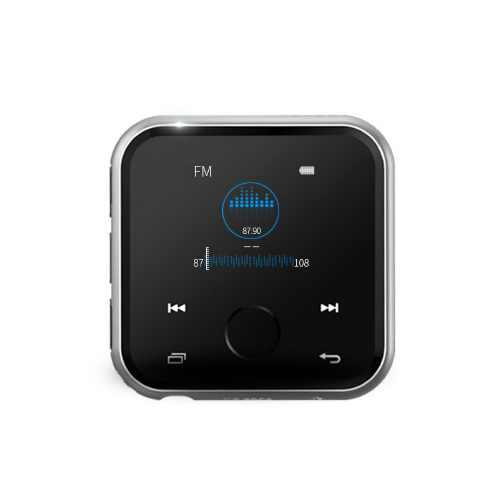 Bluetooth MP3 music player video Walkman recording FM radio e-book TF card HiFi lossless sound quality sports AB repeat stylish sports rechargeable mp3 music player headset w fm tf yellow 3 5mm jack