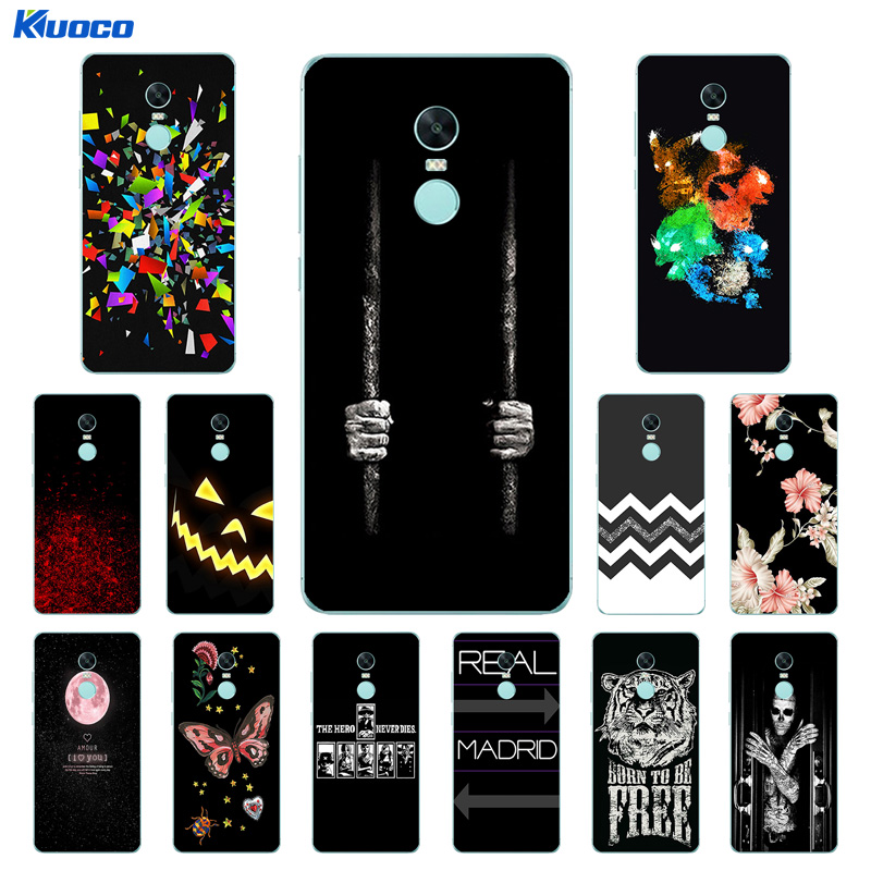 Case for Xiaomi Redmi Note 4X Soft Silicone Clear TPU Cover Character Printing Ultra Thin for Xiaomi Redmi Note 4 X 5.5