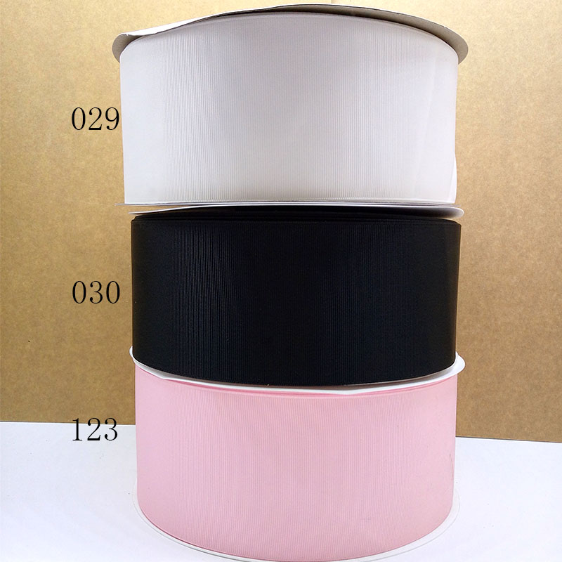 Free Shipping 2016 New Arrival Ribbons Hair Accessories Ribbon 100 Yards Grosgrain Ribbons