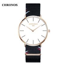 hot deal buy fashion quartz wristwatch simple style men watches nylon strap women dress watches female watch
