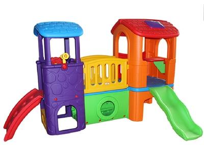 Children indoor plastic slide kids plastic toy,baby play set indoor ...
