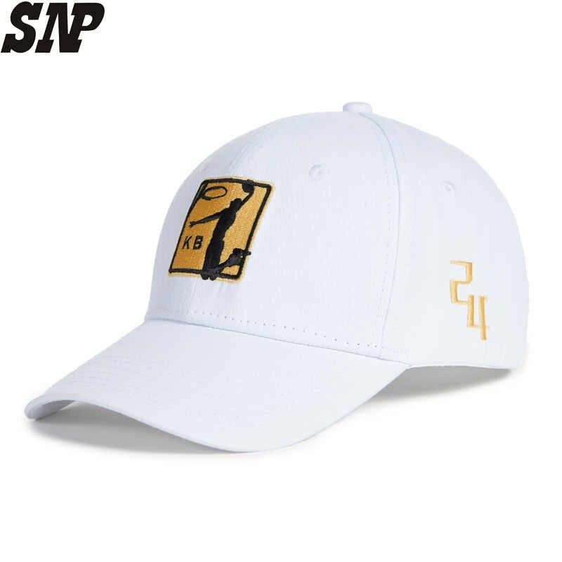 74c2e22f0ea903 SNP White Baseball Cap Men Dad Hat Cap For Women Sports Visor Basketball  Embroidery Snapback Caps