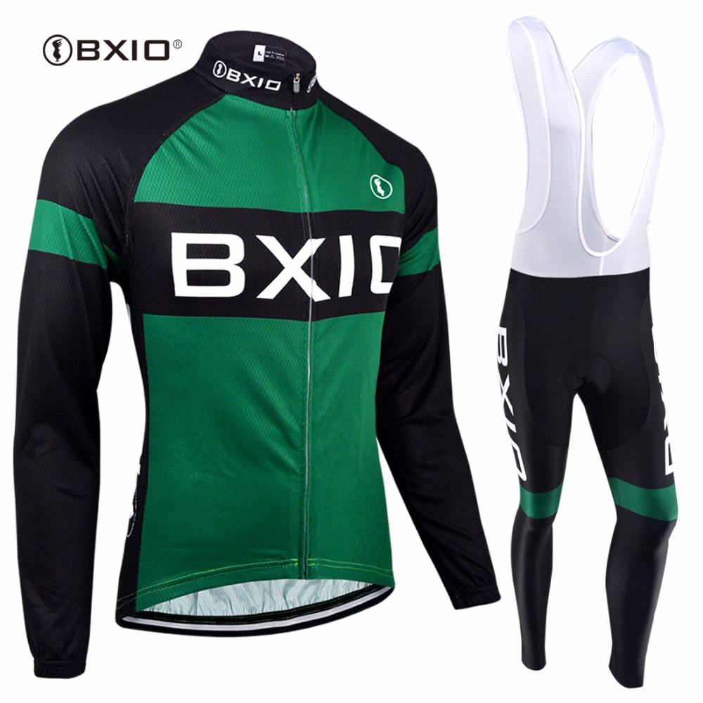 BXIO Winter Cycling Jersey Top Rate Seamless Stitching Long Sleeves Thermal Fleece Bicycle Clothing 5D Pad Maillot Ciclismo 133 black thermal fleece cycling clothing winter fleece long adequate quality cycling jersey bicycle clothing cc5081