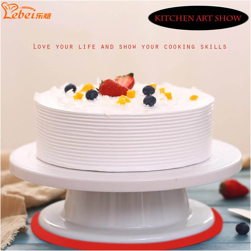 Cake Images High Quality : Kitchen high quality Cake Turntable Baking Cake Tools 28cm ...