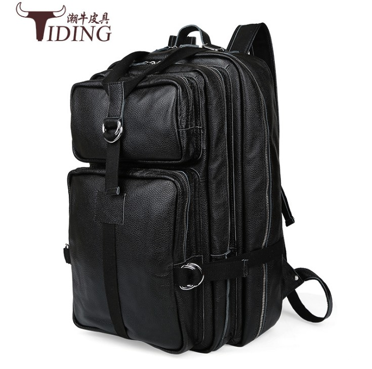 backpack women NEWFashion Large Capacity Backpack Cowhide men Backpack Genuine Leather School Bags Women Casual Style Travel bag sendefn genuine leather backpack large capacity rivet black shoulder bag women casual backpack teenage girls school travel bags
