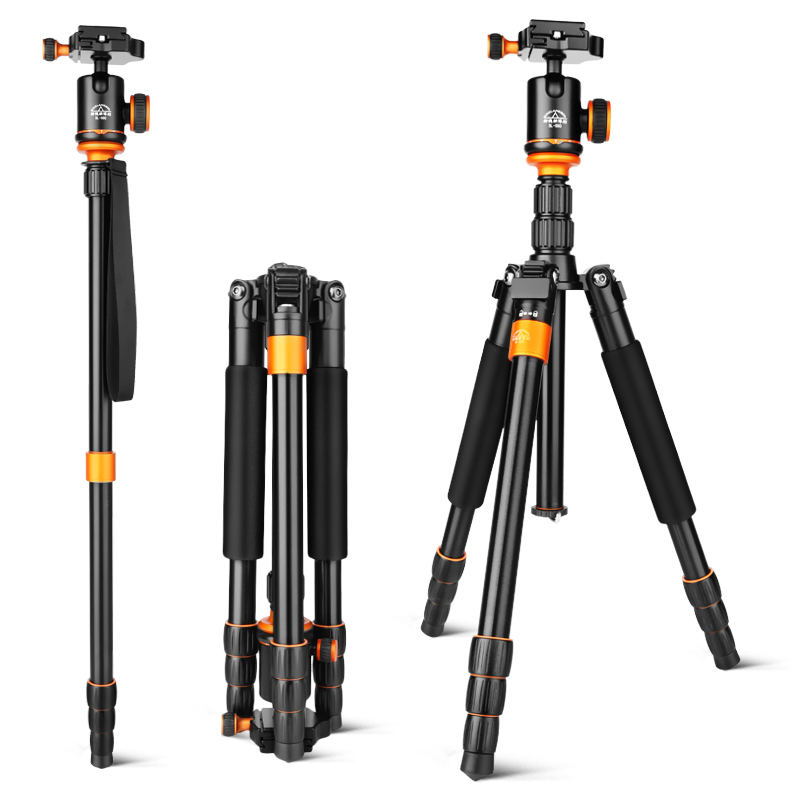 SL288A  Mini Tripod For SLR Camera Portable Traveling Tripod  Head  Monopod Changeable  Free Shipping Via DHL 2015 hot qzsd q888 professional tripod for slr camera portable traveling tripod head monopod changeable free shipping
