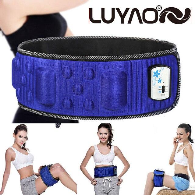 Rejection Fat Vibration Slimming Massage belt. Sauna Weight loss Massage Belt. Body Massager. With 5 motor