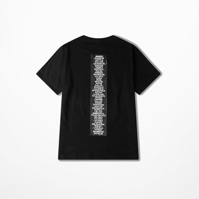European American Street Wear Tide Brand Funny T Shirts Men Rock Punk Dance T-shirts Skateboard Hip Hop Drake Souls Tee Shirt 3
