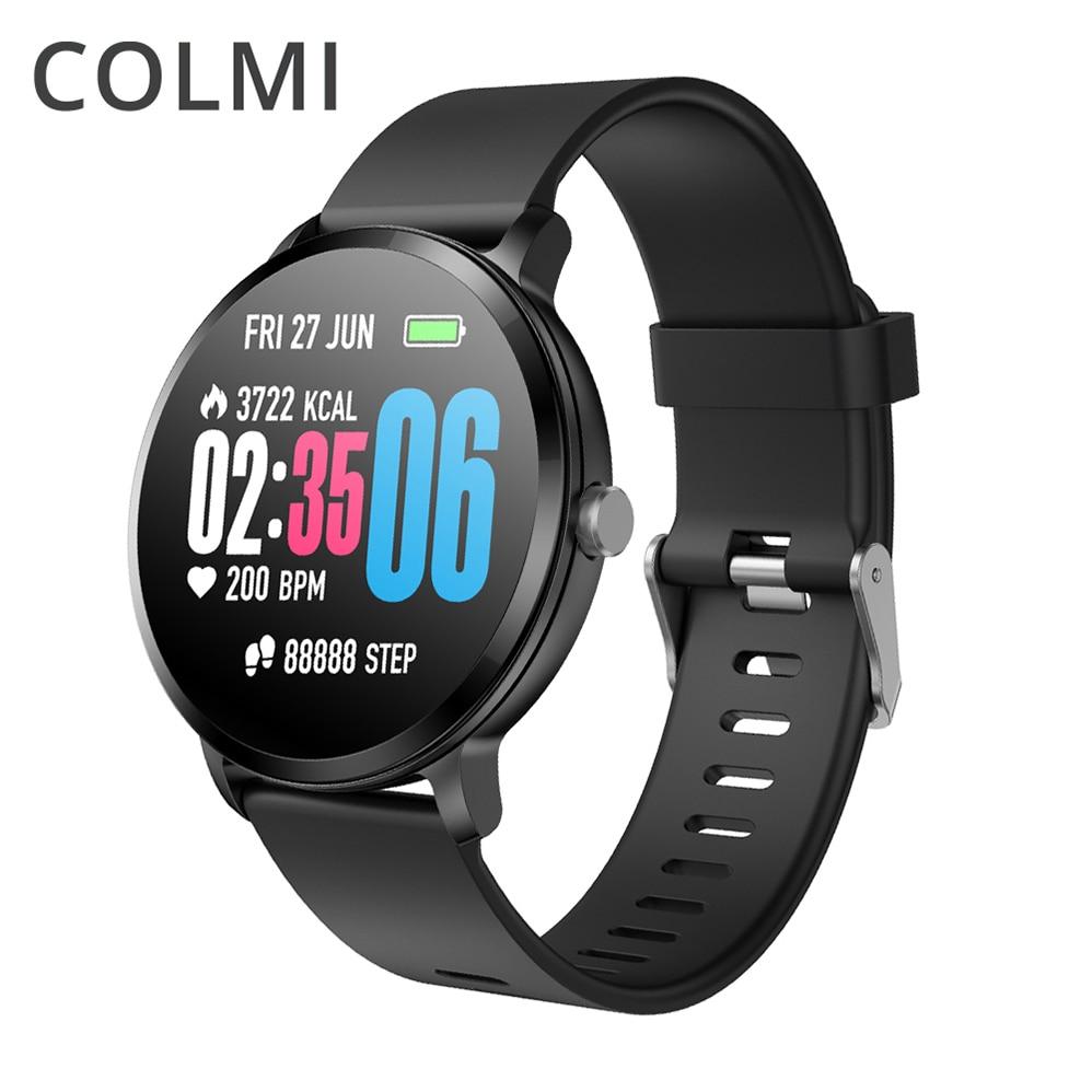 COLMI V11 Смарт-часы Для мужчин сердечного ритма IP67 Водонепроницаемый погоду Фитнес трекер часы Smartwatch для IOS Android Носимых устройств
