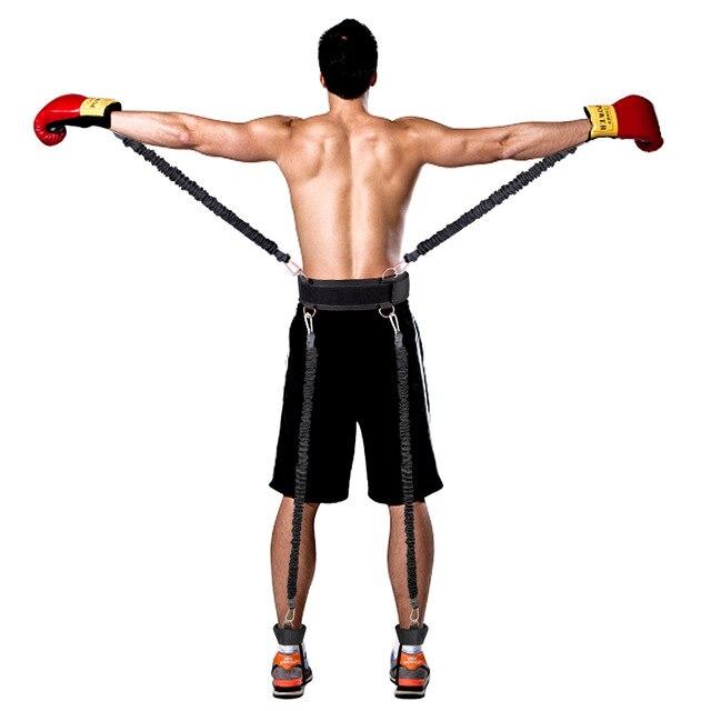 Fitness résistance bandes boxe Endurance agilité tirer corde Crossfit bande de caoutchouc basket-ball bondissant formation résistance corde ensemble