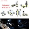 9pcs LED Canbus Interior Lights Kit Package For Mini Roadster R59 (2012+)
