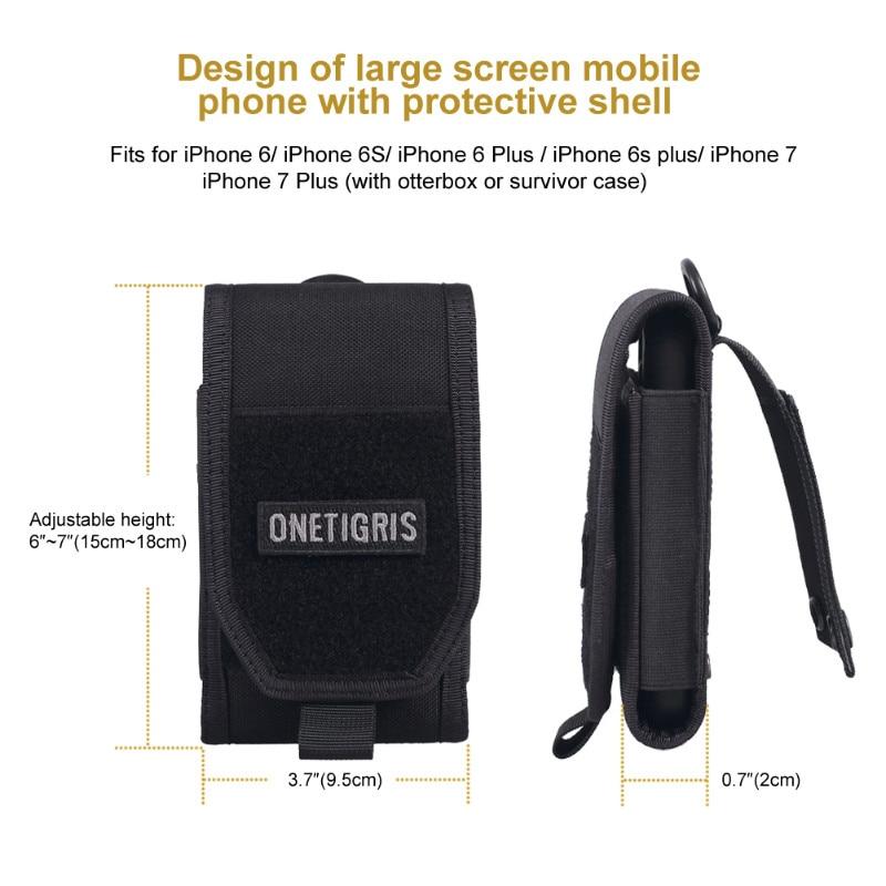 İPhone6s SE iPhone6 Plus 8Plus iPhone X üçün OneTigris - İdman çantaları - Fotoqrafiya 5
