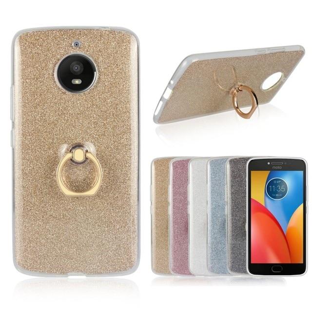 phone cases for motorola moto e4 plus e4plus shining soft tpu case ring cover etui capinhas. Black Bedroom Furniture Sets. Home Design Ideas