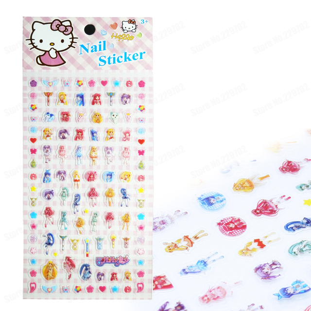 Balabala Little Magic Fairy Nail Sticker PVC Nail Art Stickers ...