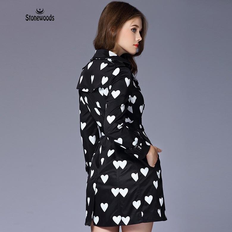 Stile di le per donne britannico Cappotto Trecce Cappotti Love base f1pwqW