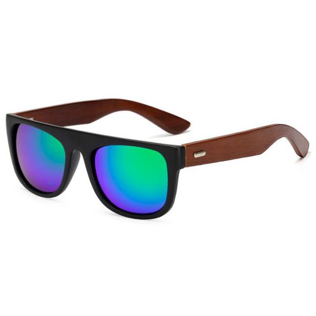 Unisex Bamboo Wooden Sunglasses
