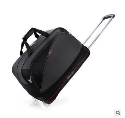 Men Nylon Travel Luggage Bag Wheeled Bag Men Rolling Trolley Bags Business Travel Bag  For Men Luggage Suitcase On Wheels