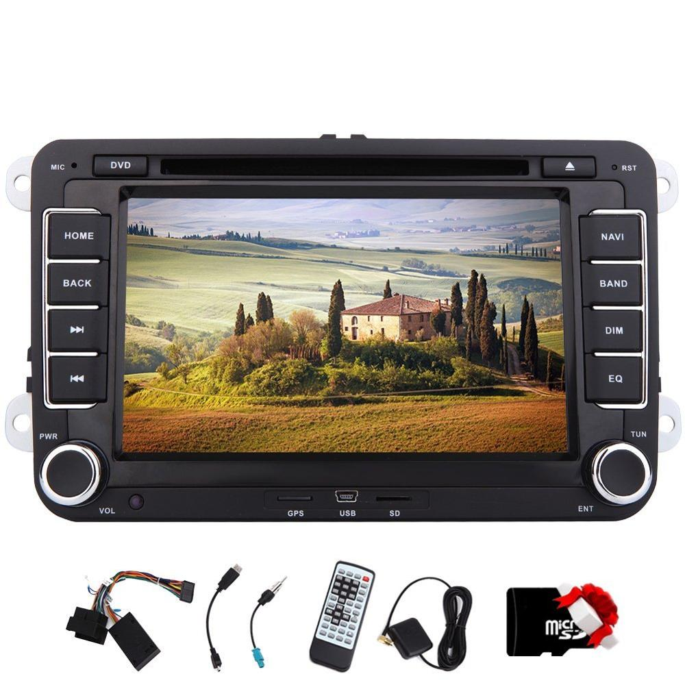7 In Dash Car Stereo 2 Din Car GPS Navigation DVD Player Head unit Car Audio For VW /Golf With Built-in Bluetooth Free Canbus female head teachers administrative challenges in schools in kenya