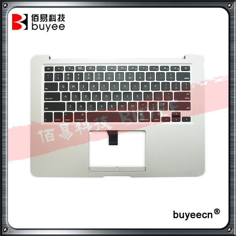Original Used A1369 Topcase For Macbook Air A1369 Palm Rest Palmrest Top Case With US Keyboard Late 2010 Year 661-5735 Tested original new laptop a1708 palm rest repair for macbook retina pro top housing case cover us layout 13 inch 2016 year replacement
