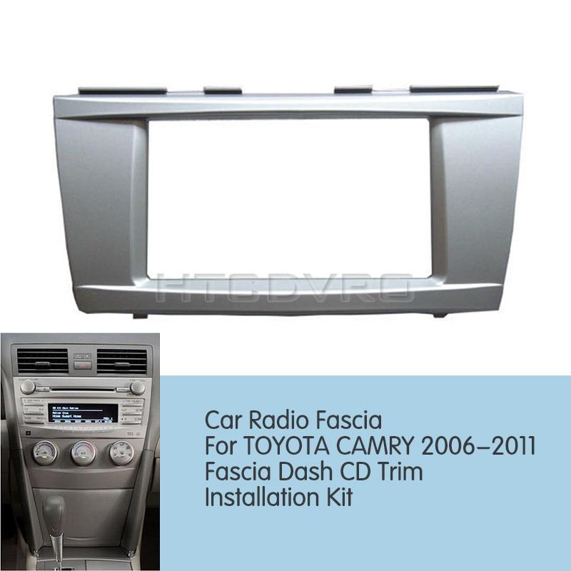 Toyota Corolla Double Din Fascia Fitting Kit Stereo Installation kit Fakra
