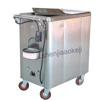 Stainless steel steam towel car barber shop wet towel heating cabinet Hotel beauty salon towel steamer disinfection cabinet 1pc