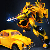 BMB H6001 3 Transformation Movie Oversized Beetle masterpiece MPM07 Bumblebee SS18 KO Version Alloy Action Figure Model Robot