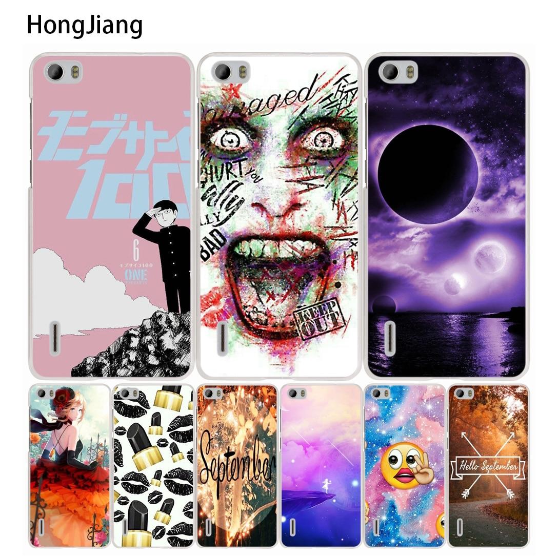 HongJiang <font><b>anime</b></font> art cell <font><b>phone</b></font> Cover <font><b>Case</b></font> for huawei <font><b>honor</b></font> 3C 4A 4X 4C 5X 6 7 8 Y6 Y5 2 II Y560