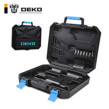 DEKO BMC Plastic Tool Case for 20V Cordless Drill GCD20DU3 not include Cordless Drill with Drill Bits Diver Bits Bits Holder(China)