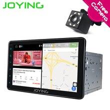 Joying Intel 2Din Android 8,1 1080 P Автомобильный стерео 8 дюймов 8 core 4G ram интеллектуальная система навигационное радио для Toyota с обратной камерой