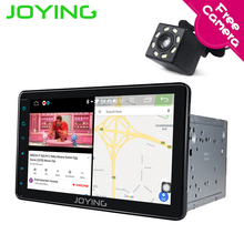 Joying Intel 2Din Android 8.1 1080P Car Stereo 8 inch 8 core 4G ROM Intelligent System Navi Radio for Toyota with Reverse Camera