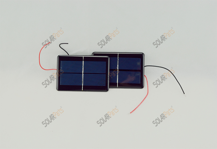 Solarparts 0.5W Polycrystalline Solar Power Module DIY1V/ 500mA For Mobile Power Bank Battery Cell Phone Toys Chargers Portable