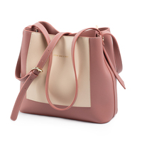 Amasie 2 Tone Large Toge Women Leather Genuine Large Capcity New Arrival Colors Bucket Female Tote EGT0134
