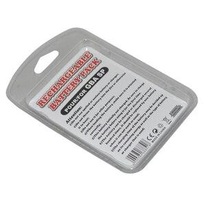 Image 5 - 100 adet çok Şarj Edilebilir 3.7 V 850 mAh Li ion Güç Paketi Aracı Paketi Kiti Gameboy Advance SP için Pil paketi G B A SP