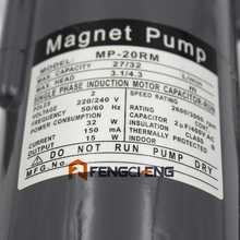 304 Stainless Steel Head  Magnetic Pump 32Watt MP-20RM Homebrew Beer and Wine Pump High Temperature Resisting 140C